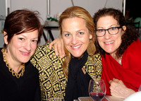 Bronxville School faculty, from left: Giselle Licursi, Sally Hogin and Virginia Gentile